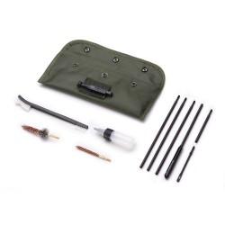 Kit de limpieza en estuche de nylon para armas de calibre 5.5 y 12. lp014