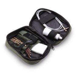Kit de limpieza en estuche de nylon para armas de calibre .270 - .30 - .22 - .17 lp015