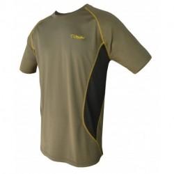 CAMISETA TECHNICAL Kaqui/Amarilla 407