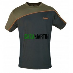 "CAMISETA ""TECHNICAL"" Kaqui/Naranja 408"