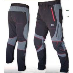 694 Pantalón soft shell gris/negro
