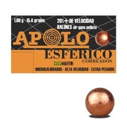 BALINES APOLO COPPER ESFÉRICOS 4,5MM