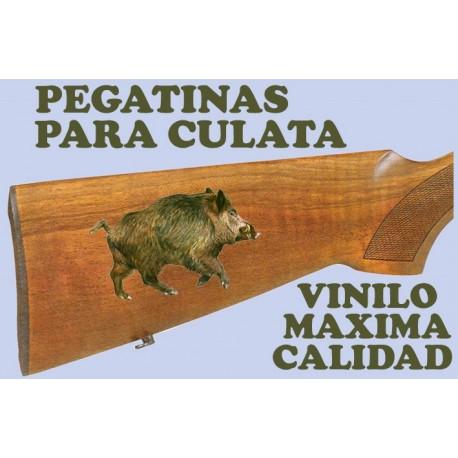 PEGATINA DE JABALÍ - 25